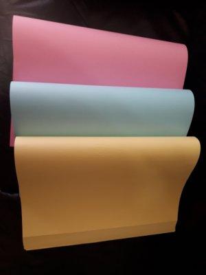 250張~ [水藍色下標處]~內襯紙 (厚度同報紙)/埴塞紙/包裝紙 台灣製 4K(54.5x39.5) 【亞誠】
