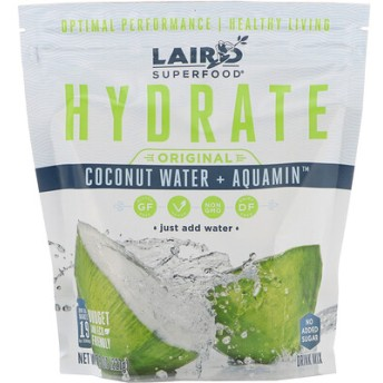 Hydrate, Original, Coconut Water + Aquamin, 8 oz (227 g)