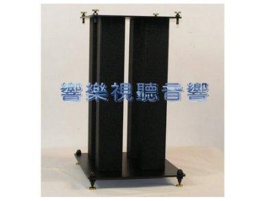 【響樂視聽】全新品四方柱造型專業HI-FI喇叭架45公分*聲音更純淨*一組兩支 DIY