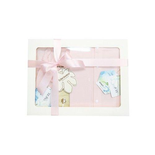Edenswear 伊登詩 - 鋅纖維抗敏衣系列-寵愛彌月禮盒-淺粉-五件組