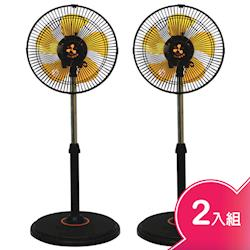【伍田】12吋超廣角循環涼風扇2入組WT-1211