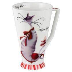 英國瑪里琳Marilyn 骨瓷喇叭杯-夢幻甜點