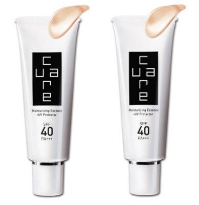 炫曜 CureCare水潤保濕防曬乳霜SPF40 PA+++  50g 雙件組