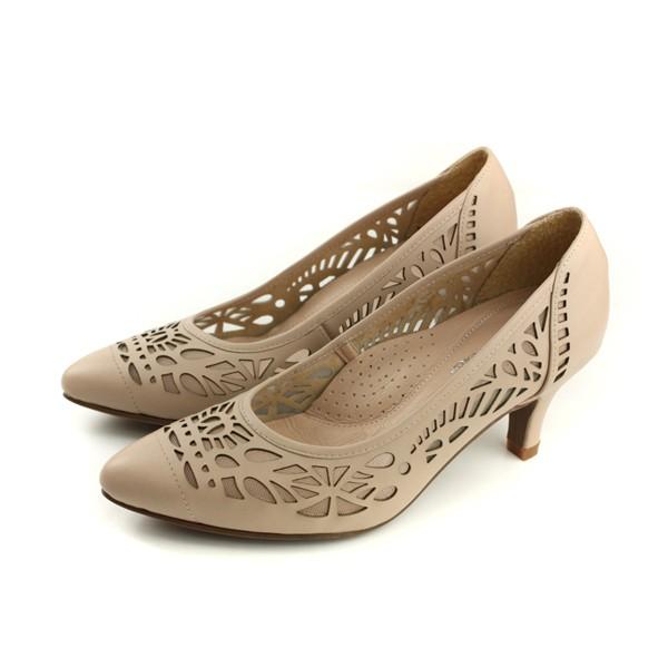 HUMAN PEACE 低跟鞋 可可色 女鞋 053568BB no279