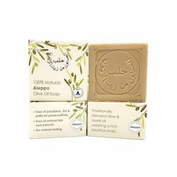 希臘BIOESTI-(即期品)高純度頂級阿勒坡桂冠美膚皂200克 (4入組)