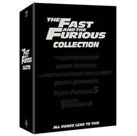 合友唱片 玩命關頭1-6 藍光限量鐵盒版 Fast & Furious steelbook collection