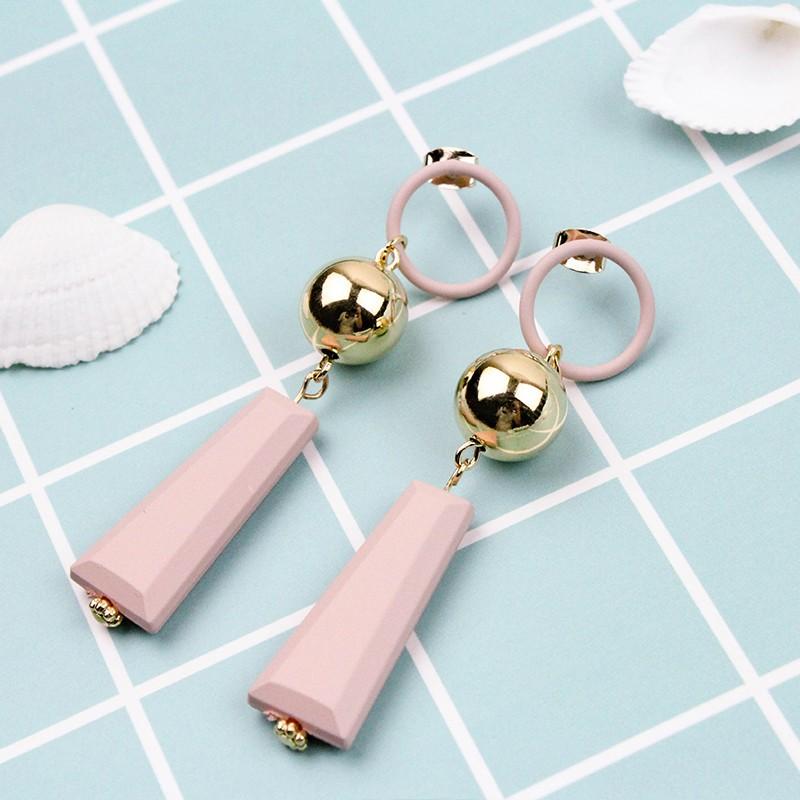 【現貨】韓國製 俏皮款風鈴造型耳環【J&J Accessory】