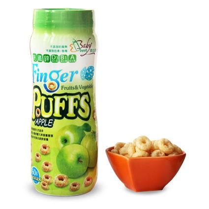 貝比斯特 蔬果手指泡芙-蘋果口味 60g/瓶【佳兒園婦幼館】