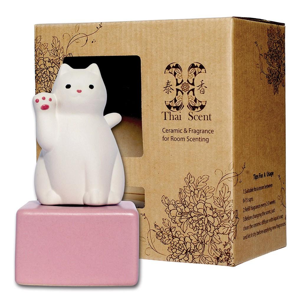 ThaiScent泰香 lucky cat擴香精禮盒