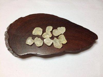 【Texture & Nobleness 低調與奢華】礦物展區 原礦 標本 -拓帕石-10.37克