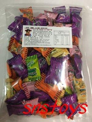 sns 古早味 進口食品  Lot100 一百份綜合超酸 QQ糖 先酸後甜 整人酸Q軟糖 350g(馬來西亞進口)約80