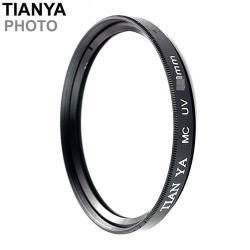 Tianya天涯多層膜濾鏡58mm濾鏡58mm保護鏡MC-UV濾鏡MCUV保護鏡(2層鍍膜)