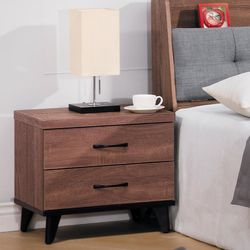 【時尚屋】[G17]麥納得淺胡桃床頭櫃G17-A013-5