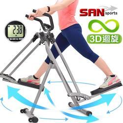 立體3D迴旋滑步機