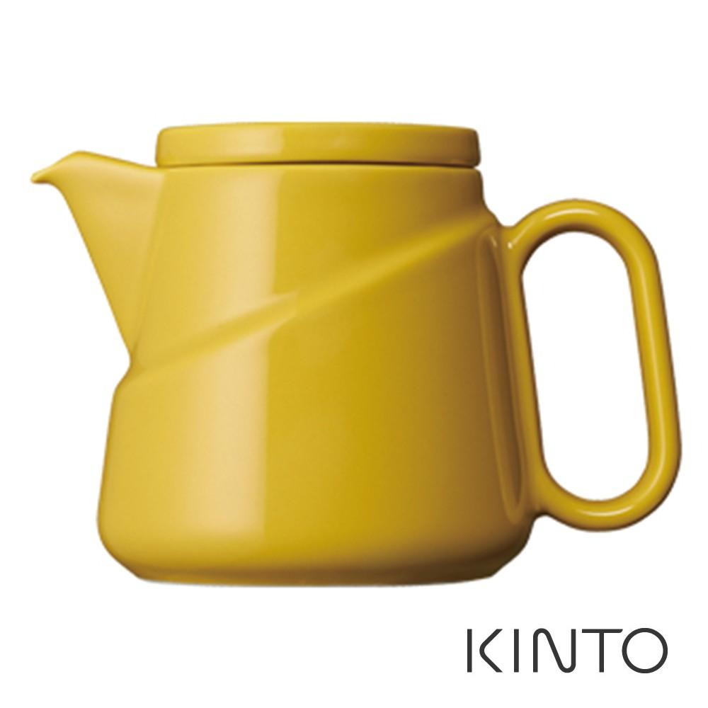 【日本KINTO】 Ridge精巧茶壺 黃