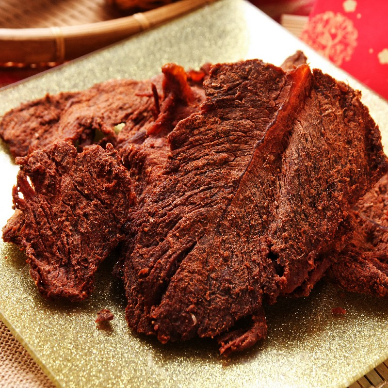 【源味香】原味牛肉乾(164克/包)