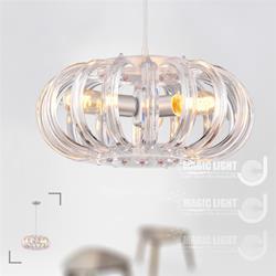 【光的魔法師 Magic Light】鳥巢現代吊燈 ( 晶透款 ) 三燈