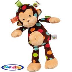 美國【Mary Meyer】標籤安撫玩偶-點點猴(小)
