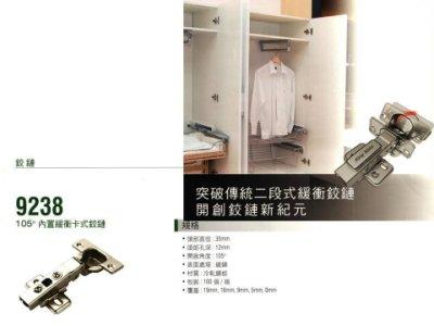 寸15 緩衝 6分《五金House》 寬柄鉸鏈9238 西德丁雙      1顆50元(1組2顆)  台灣製