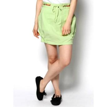 【大きいサイズレディース】【L-2L】カラーミニスカート スカート ミニスカート