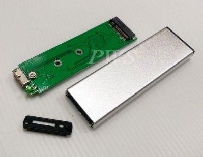 ☆【全新APPLE MACBOOK Air SSD 轉 USB 轉接盒 2010 2011年】全鋁外殼 移動 外接硬碟盒