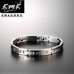 KMK鈦鍺精品【元羽】純鈦+純鍺健康手鍊