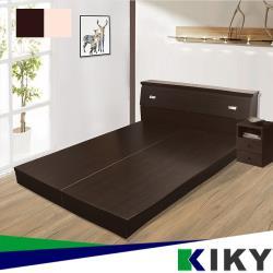KIKY 麗莎5尺床底板~100%台灣製造(胡桃/白橡)