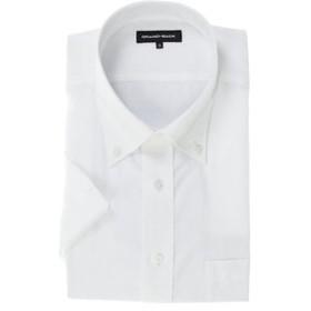 【GRAND-BACK:トップス】【大きいサイズ】グランバック/GRAND-BACK 形態安定ボタンダウン半袖ビジネスドレスシャツ