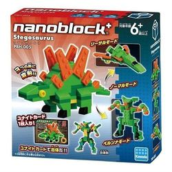 【Nanoblock 迷你積木】PBH-005 劍龍
