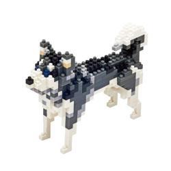 【Tico微型積木】動物狗系列-哈士奇 T-9403