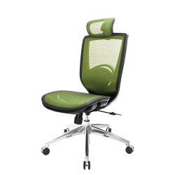 GXG 高背全網 電腦椅 鋁腳無扶手  TW-81X6 LUANH