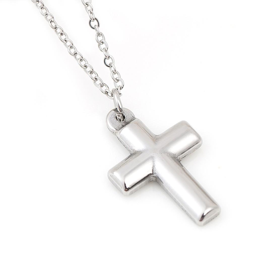 鋼鍊 BigBang 簡約十字架 項鍊 鈦鋼 百搭款 艾豆 ND6532