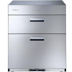 (全省安裝)櫻花落地式全平面落地式68cm(與Q7692同款)烘碗機銀色Q-7692