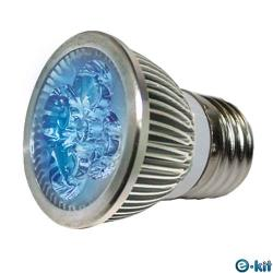 e-kit 逸奇 高亮度 8w LED節能E27杯燈_藍光 LED-278C_BU