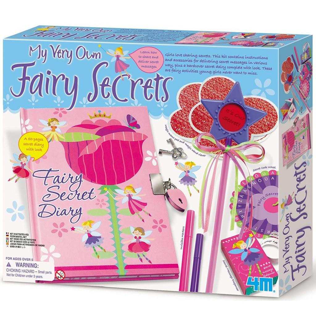 4M美勞創作 My Very Own Fairy Secret 花精靈的秘密花園