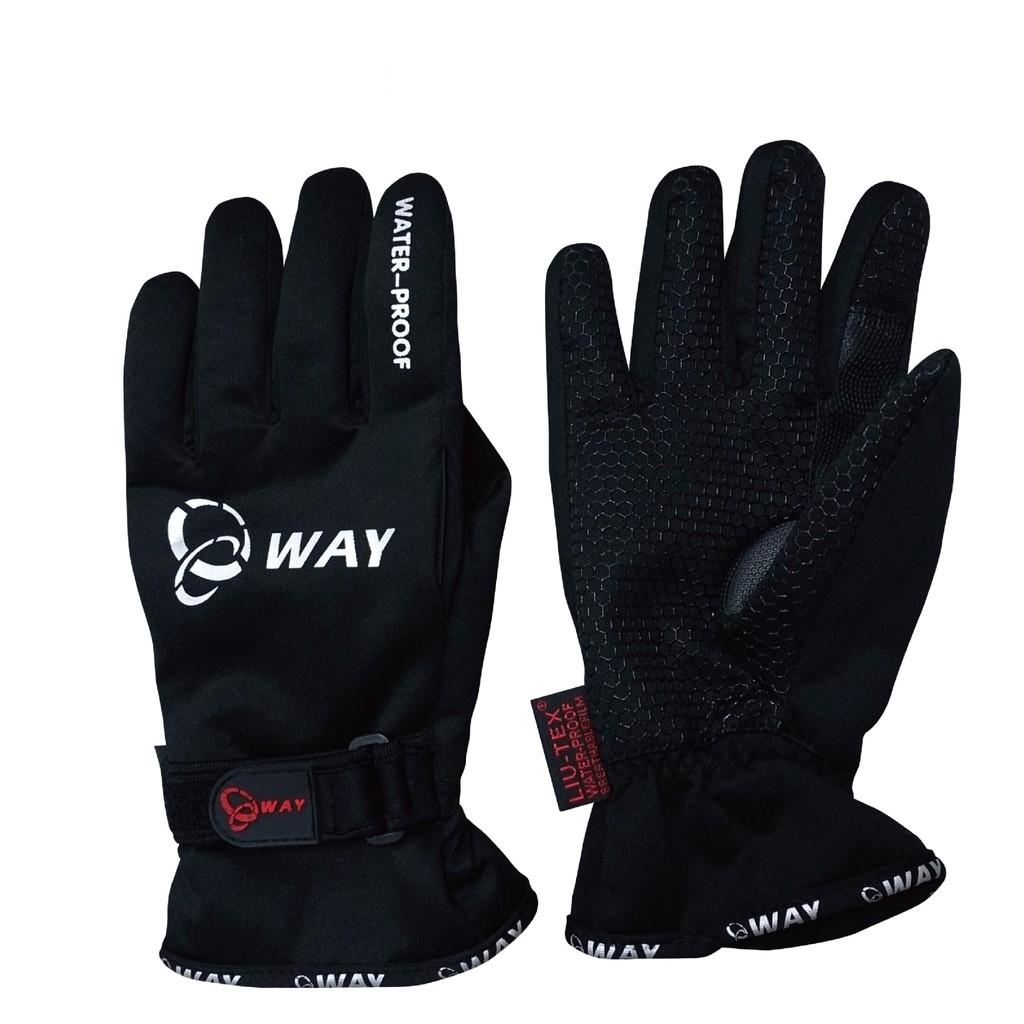 【24小時出貨】5℃ WAY 防水 防寒 防風 潛水布 手套 JYG-003 尺寸:S、M、L、XL