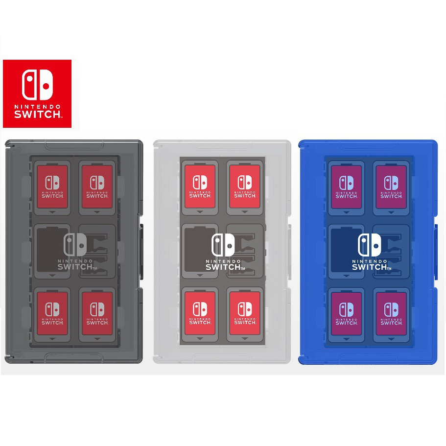 NS HORI NS 12+2 遊戲收納盒卡夾盒 NSW-021 NSW-022 NSW-024