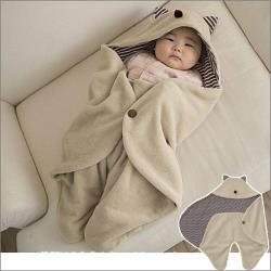 多功能外出抱毯 嬰兒包巾
