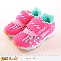 魔法Baby 女童鞋 迪士尼米妮正版專櫃朝款休閒運動鞋~sh9948
