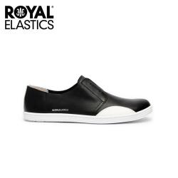 【Royal Elastics】女-New York flat 時尚休閒鞋-尊爵黑(93882-990)