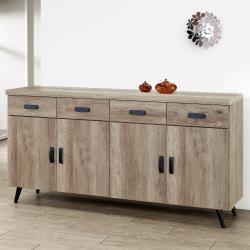 Homelike 艾尼5.3尺餐櫃(古橡木)