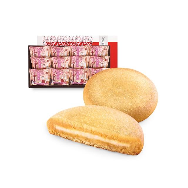 聖保羅Q餅(起士口味)12入 禮盒
