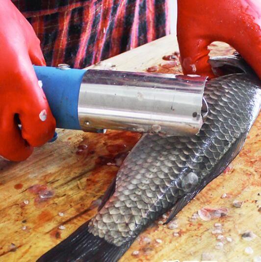電動魚鱗刨刮鱗器殺魚工具商用全自動防水刮魚鱗器打去魚鱗機神器ATF 三角衣櫃