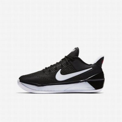 NIKE KOBE AD GS 耐磨底運動 籃球鞋 編織 低筒  869987-001 男鞋 黑白