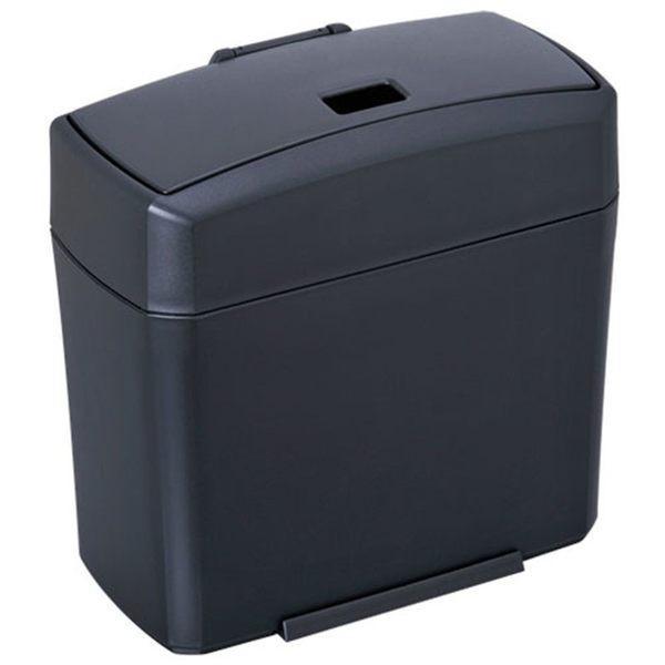 車之嚴選 cars_go 汽車用品【W654】日本 SEIWA 車用 兩種掀蓋式 低重心防傾倒垃圾桶 置物桶
