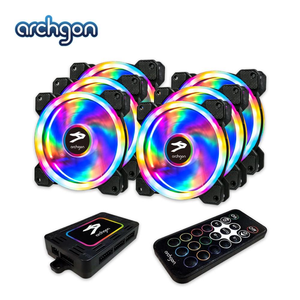 Archgon RGBCF26 Hanabi 60 PWM RGB 電競風扇組(一組風扇6入)