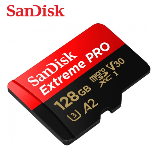 SANDISK 128G Extreme PRO A2 V30 micro SD U3 UHS-I 高速170M