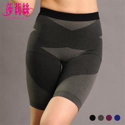 莎莉絲 竹碳抑菌 無縫提托立體翹臀超激瘦美體塑身褲/M-XL(四色任選) - (買一送一)
