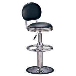 傢俱屋 拉采電金吧台椅 黑 高