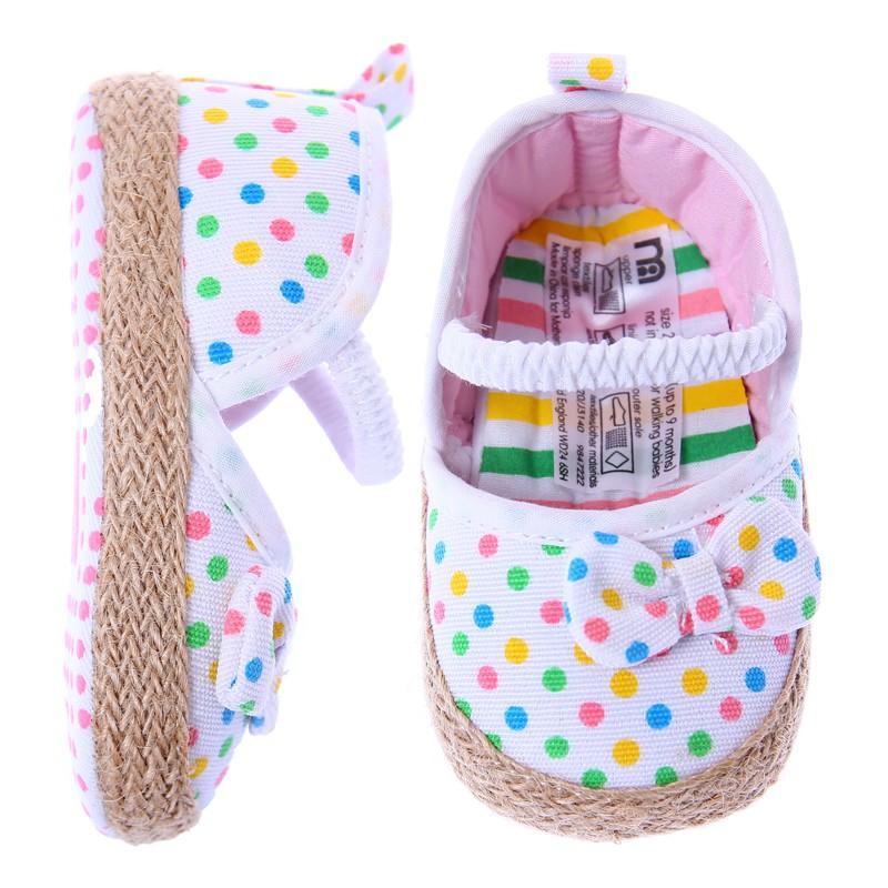 歐美等品牌百搭造型超可愛學步鞋-140圓點【60214】貝比幸福小舖